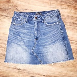 Abercrombie & Fitch High Waisted Skirt